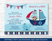 Pirate Whale Baby Shower ...