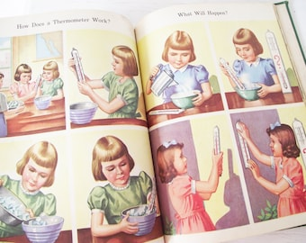 Vintage Dick and Jane Science Book - All Around Us - Scott Foresman - Homeschool