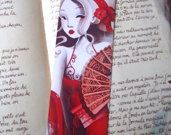 Bookmark Charming red