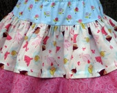 Fairyville Girly Girl layered Twirl skirt, Girls sizes 12M to size 8
