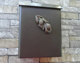 Craftsman Pine Cone Mailbox Rustic Oil Rubbed Bronze