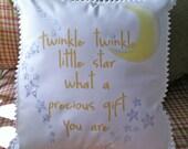Twinkle twinkle little star pillow
