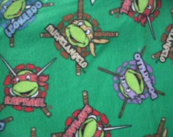 Ninja Turtle NoSew Fleece Blanket with Gift Bag