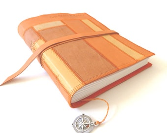 Leather Patchwork Journal