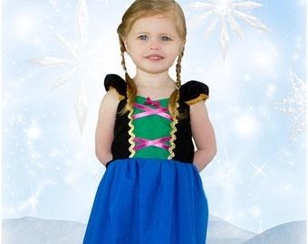 ANNA dress, Frozen Dress, Anna Princess Dress, Princess Dress,  Practical Princess Dress, Frozen Birthday Party