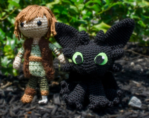 Amigurumi How To Train Your Dragon : Unavailable Listing on Etsy