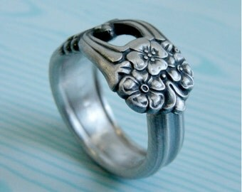 Silver Spoon Ring - Eternally Yours 1941