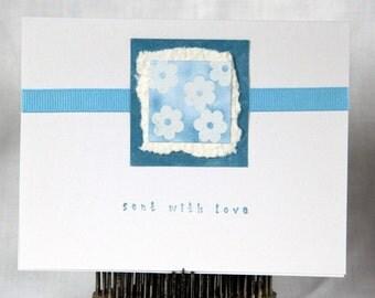 Greeting Card - SALE - Gentle Flowers