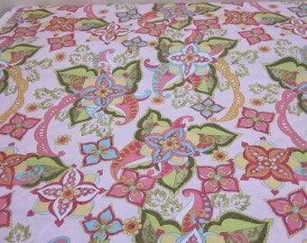 Bohemian Festival Pink Fabric Fat Quarter