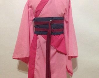 Lola Collection Mulan Kimono Dress Childrens