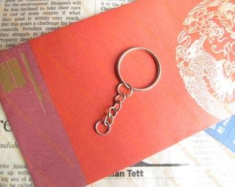 Blank Keychain with split ring