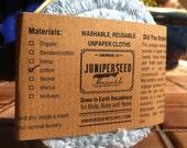Preorder Washable, Reusable Facial Poufs - Cotton Chenille Rounds