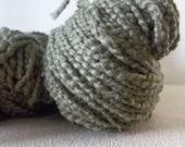170 Yards 100% Olive Green Cotton Reclaimed Yarn Recycled Eco Friendly