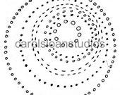 Thermofax Screen Circles