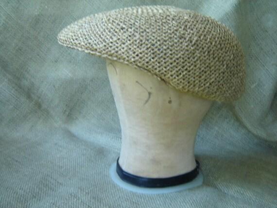 Vintage newsboy touring cap