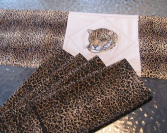 Jaguar Dinner Napkins