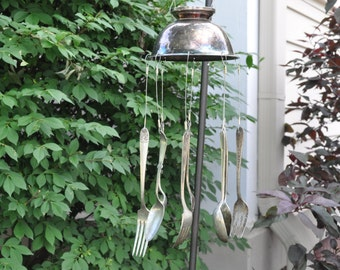 Wind Chime - Vintage 'Condiment 'Bowl' Wind Chime