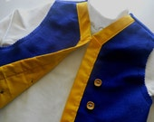 Jake of Neverland vest, SZ 3 mos to 5 years.
