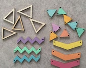 Geometric Jewelry Making Detash Lot