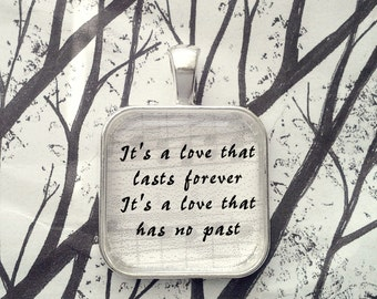 Don't Let Me Down by The Beatles  Song Lyric Pendant