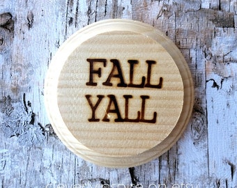 Custom Wood  Coasters Fall
