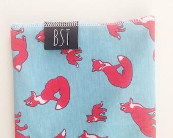 Fox Print Swaddle Blanket // Modern Baby  Blanket // Receiving Blanket // MJC0920
