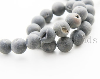 One Strand (16 Inches) Natural Agate-Round 12mm (155)