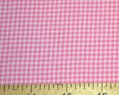 Three (3) Yards -Tiny gingham print in pink by Michael Miller Fabrics CX4834-PINK-D