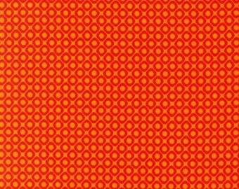 Fat Quarter -Hello Tokyo Diamonds in Orange by Robert Kaufman Fabrics ALL-14001-267 ADVENTURE