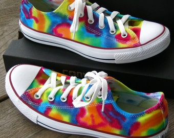 Children's  MADE to ORDER  Tie-Dye Converse Low Top Sneakers