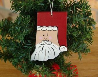 Indiana Santa Ornament