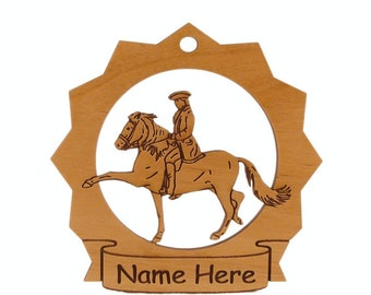 Spanish Trotter Horse Wood Ornament 088289 Personalized With Your Horse's Name
