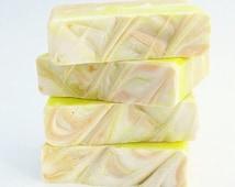 Juicy Mango Sorbet Vegan Homemade Soap Olive Oil & Shea Butter
