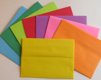 PE29  24 pc. Multi Color Envelopes A6 60 lb. 4 3/4 x 6 1/2 (12.07cm x 16.51cm)