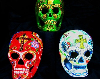 Day of the Dead Skulls Devotional Set