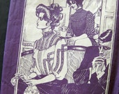 Gibson Girl Blouse - Turn of the Century Fashion Living History - Folkwear Pattern 206 / Size 6-14