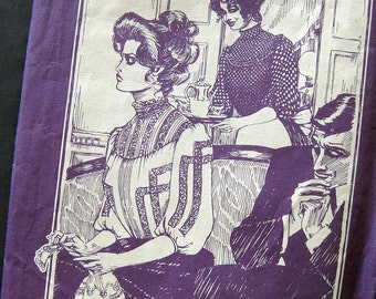 Gibson Girl Blouse - Turn of the Century Fashion Living History - Folkwear Pattern 206 / Size 6-14