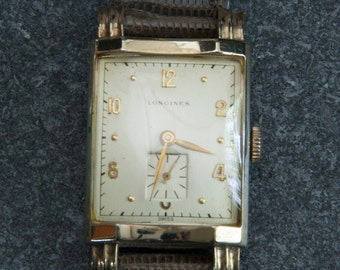 1940.50 Longines 10 kt gold filled watch