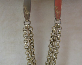 Gold Sweater Guard Clip Vintage