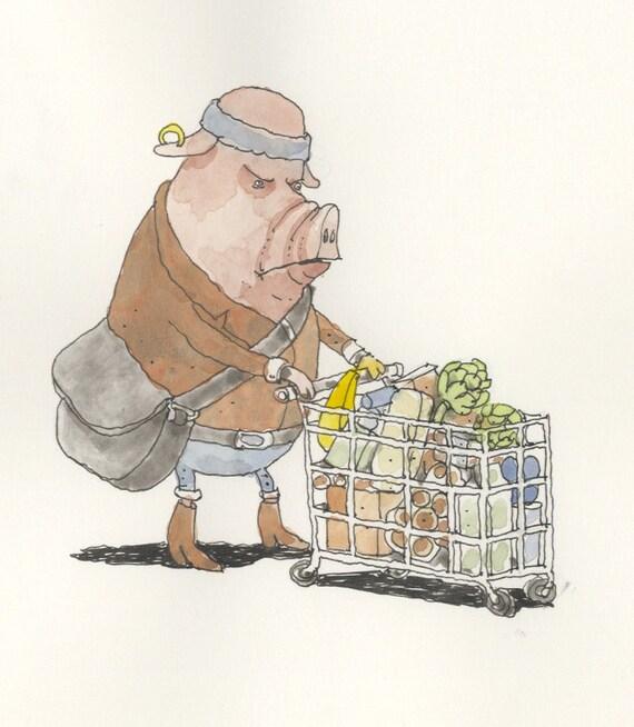 Disgruntled shopper