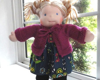 Acadia (Waldorf/Bamboletta) Knit Sweater Pattern