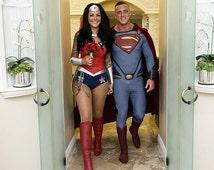 New DC 52 GORGEOUS Justice League Wonder Woman Costume...