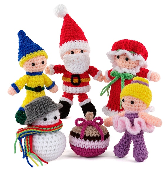 Crochet Happy Holidays Amigurumi pattern pdf
