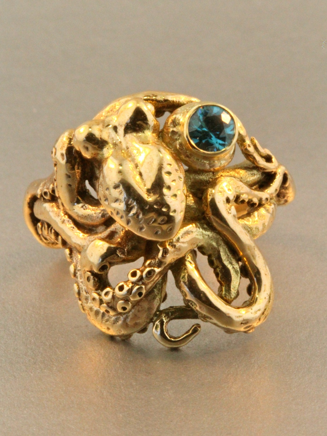 gold octopus ring gold octopus jewelry jewelry