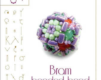 Bram beaded beads - PDF instruction for personal use only