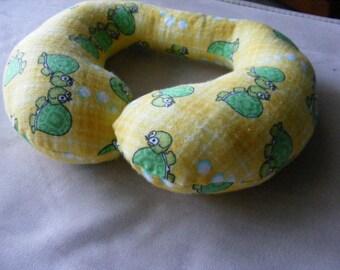 Toddler Travel Pillow, Turtles