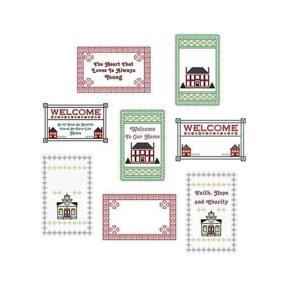 Cross Stitch Sampler Kits and Patterns - Everything Cross Stitch 83