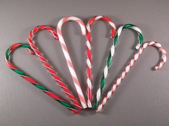 Art glass candy canes