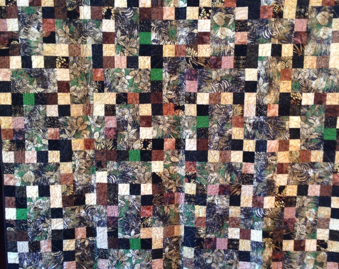 Growing Into the Me I Dreamed Of 60 x 73 inch lap quilt or wallhanging