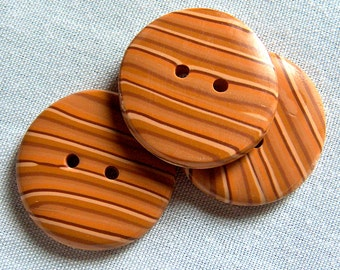 Tan Striped Buttons No.38
